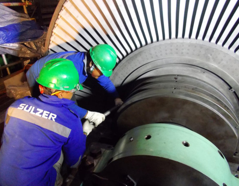 Remote geothermal steam turbine inspection completed in record time