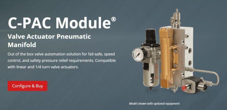 C-PAC Module Pneumatic Manifold & Online Store