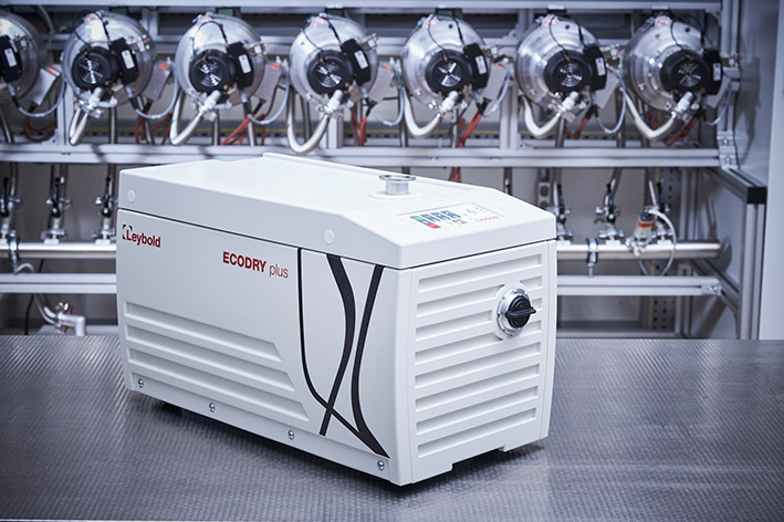 New vacuum pump ECODRY 25 and 35 plus from Leybold