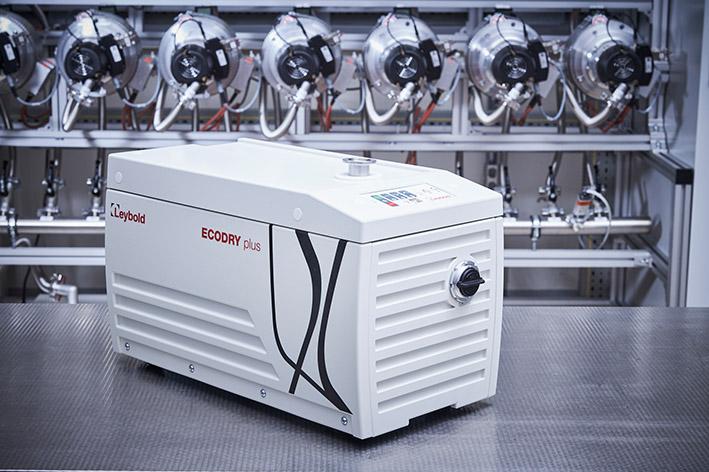 Neue Vakuumpumpe ECODRY 25 und 35 plus von Leybold