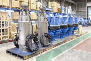 Tsurumi: Schmutzwasserpumpen extrem