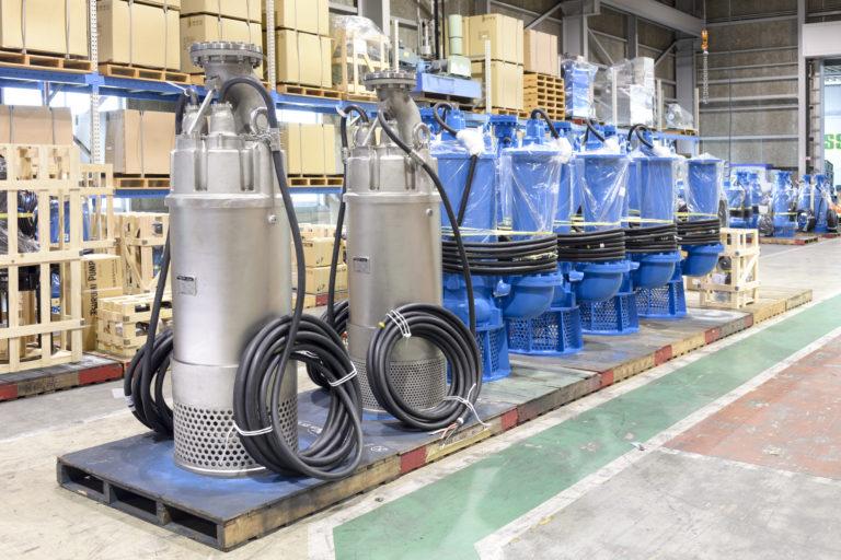 Tsurumi: Extreme dewatering pumps