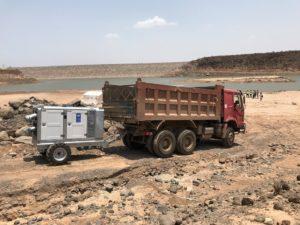 Pompes de secours contre les inondations de BBA Pumps pour les Nations Unies à Djibouti