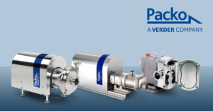 Packo Hygienic Pump Portfolio: JEC and Packo unite forces