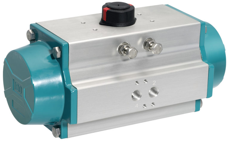 New GEMÜ GDR and GSR actuators for pneumatically operated quarter turn valves