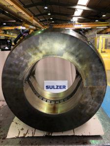 Sulzer augmente la capacité et l'efficacité de la fabrication de roulements Babbitt