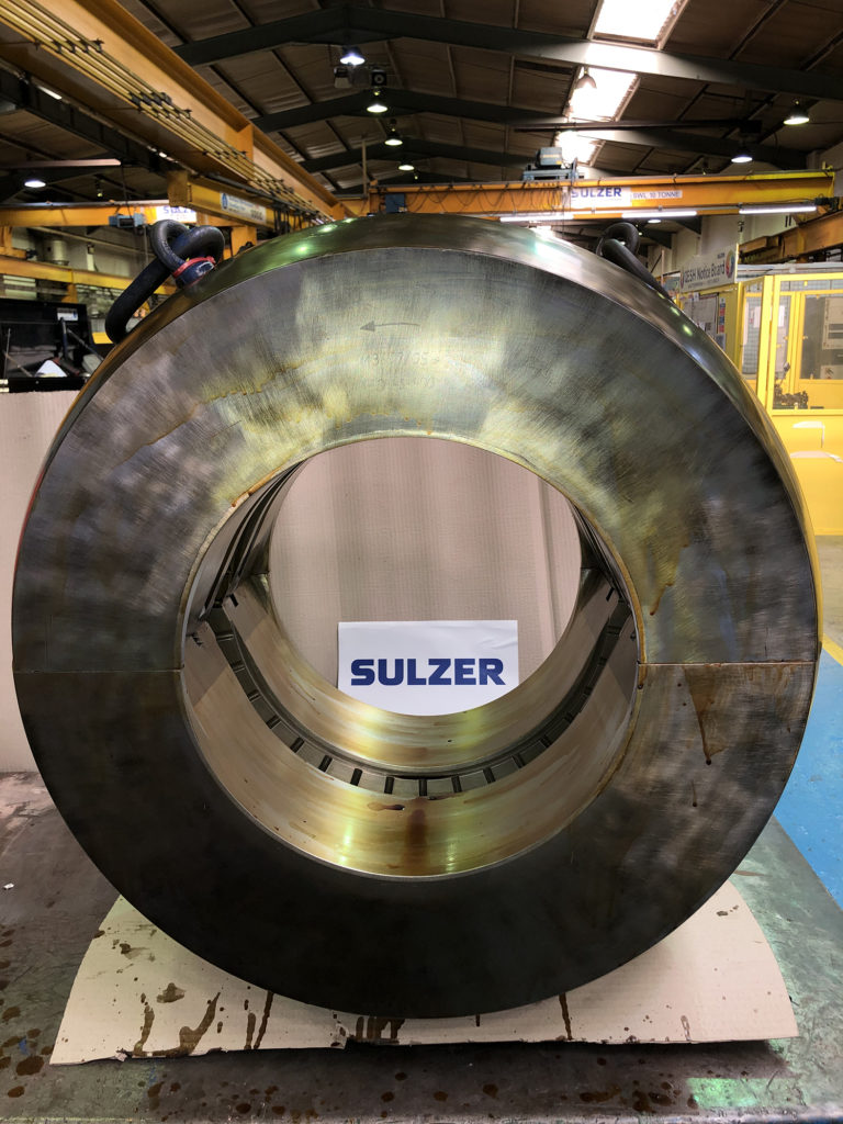 Sulzer increases capacity and efficiency for Babbitt bearing manufacturing