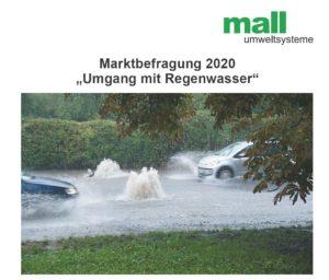 Marktbefragung zum Umgang mit Regenwasser in D-A-CH: Eine Branche plant dezentral
