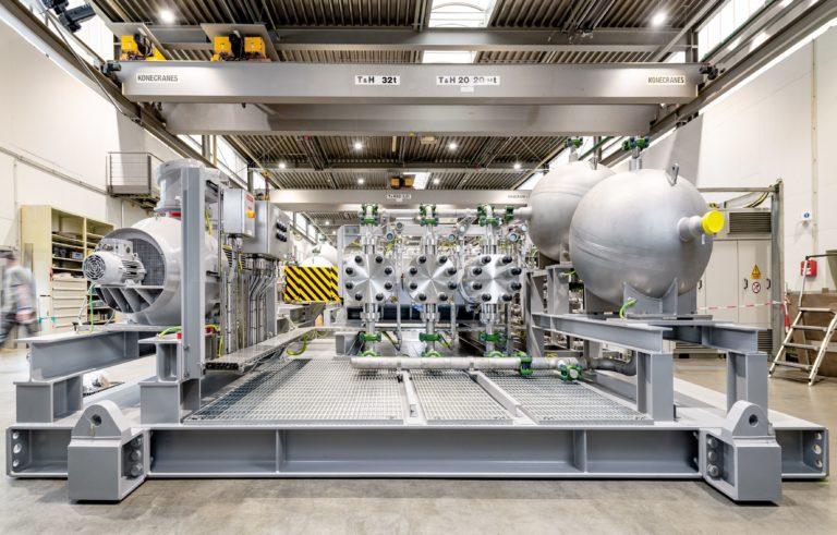 Secado de gas bajo el agua: inyección segura de glicol para la producción de gas natural