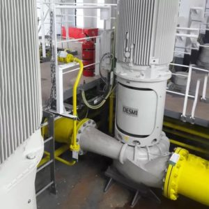 Ensure good workmanship around your ship's pump systems