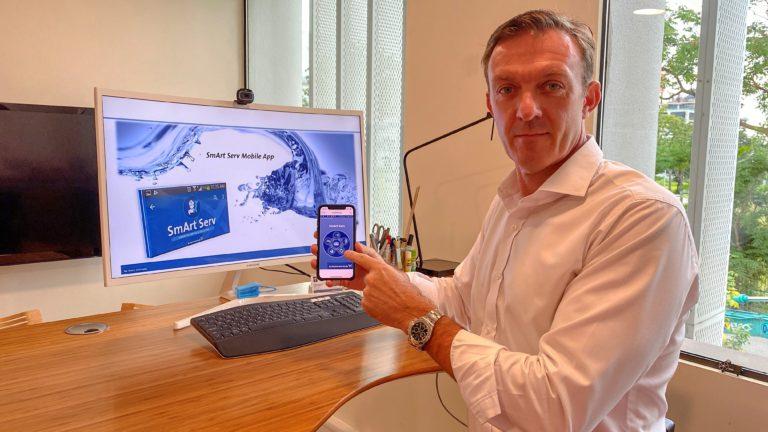 Grundfos lancia un'app intelligente nelle Filippine per un servizio di infrastruttura idrica veloce ed efficiente