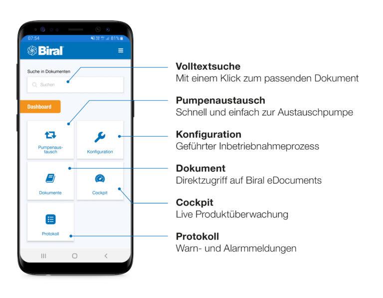 Neue App «Biral ONE» vorgestellt