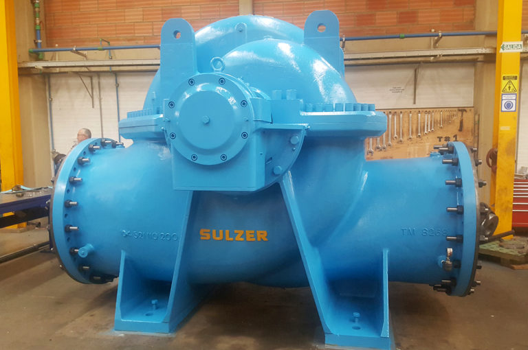 Sulzer Overhauls Main Pumps in Water Station Pumping to Ensure Decades of Reliability