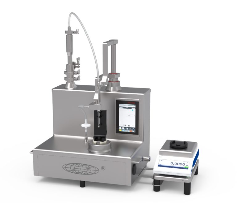 Table-Top Dosing Machine for Highly Viscous Materials
