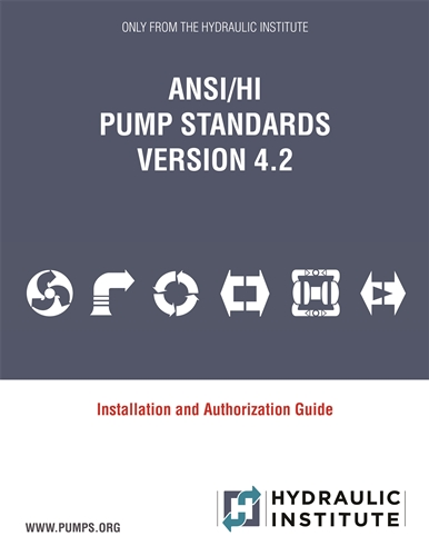 Versione ANSI / HI Pump Standards 4.2 ora disponibile
