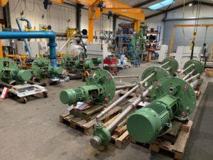 Amarinth assicura l'ordine della pompa per l'impianto di lavorazione in Algeria