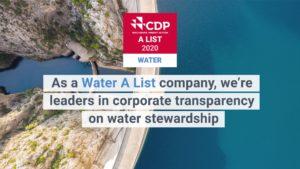 GEA si è aggiudicata i primi posti nelle classifiche di CDP sulla gestione dell'acqua e sugli elenchi di benchmark climatici