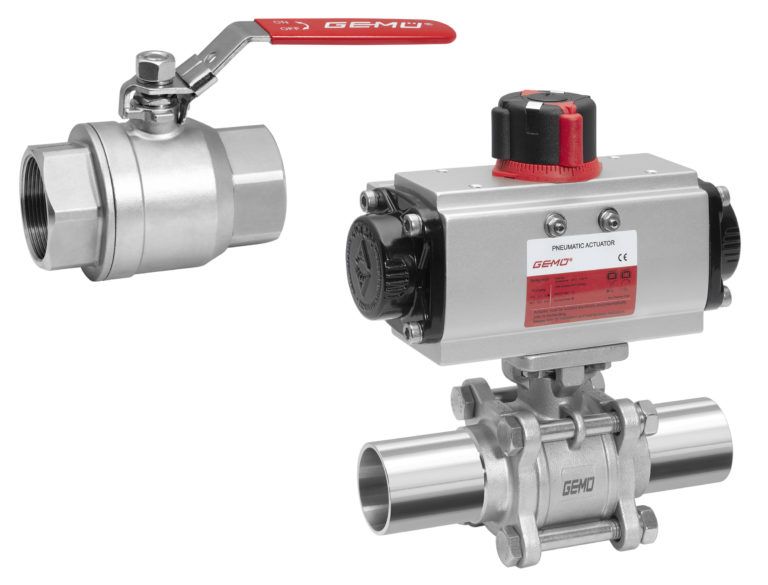 New Ball Valves for Industrial Applications