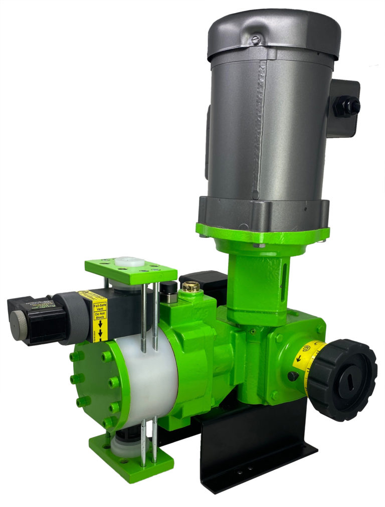 PulsaPro Hydraulically Actuated Diaphragm Metering Pumps Certified by WQA