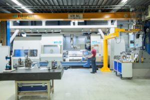 Il nuovo centro macchina aumenta la velocità dei tempi di produzione dei componenti della pompa