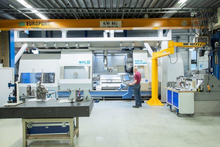 Le nouveau centre d'usinage augmente la vitesse de production des composants de la pompe