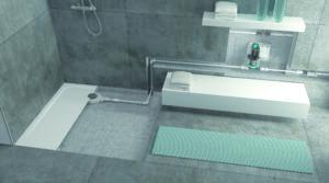 Sanftläufer Universal-Set für bodengleiches Duschen