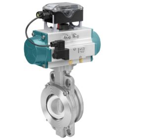 GEMÜ Tugela Double-Eccentric Butterfly Valve Meets Stricter Temperature and Pressure Requirements
