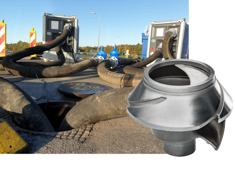 New KS Impeller for Sewage Pumps