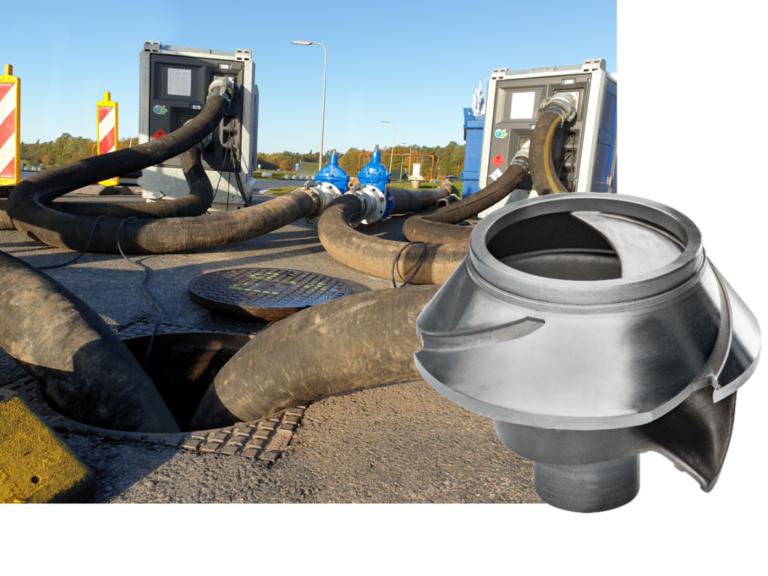 Nouvelle roue KS pour pompes à eaux usées