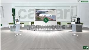 Le groupe CAPRARI présente un espace virtuel en ligne pour les communications externes
