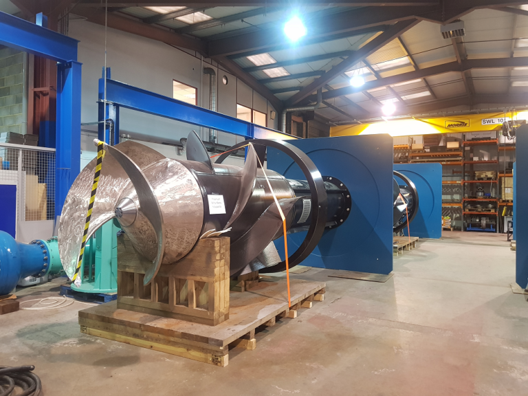 Bedford Pumps Selects Thordon for Flood Defence Pumps
