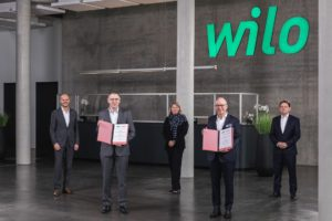 Wilo and Hellmann Sign Contract for Global Logistics Cooperation