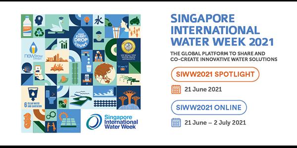 Die Singapore International Water Week 2022 findet im April 2022 statt
