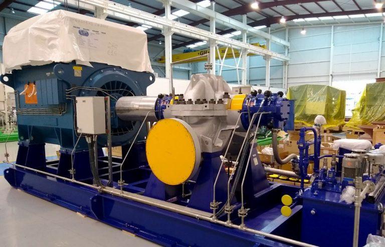 La competenza nelle pompe aumenta l'affidabilità e l'efficienza nell'ultimo impianto dell'Arabia Saudita
