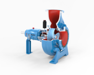 Energy-Efficient and Clog-Resistant Pumping of Raw Sewage
