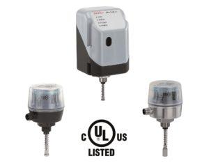 Otros componentes de automatización de GEMÜ reciben la marca de certificación UL