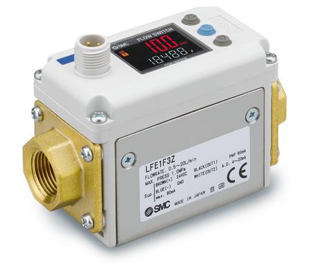 Elektromagnetischer digitaler Durchflussschalter in isolierter Ausführung