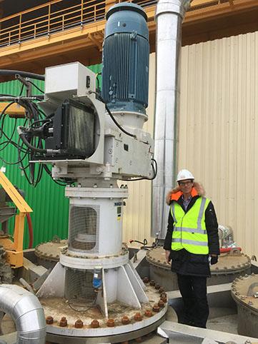 Scaba Heavy-Duty Agitators Save Energy in Sulphur Melters