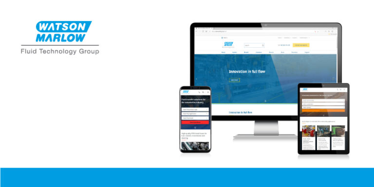 Watson-Marlow Fluid Technology Group lance un nouveau site Web