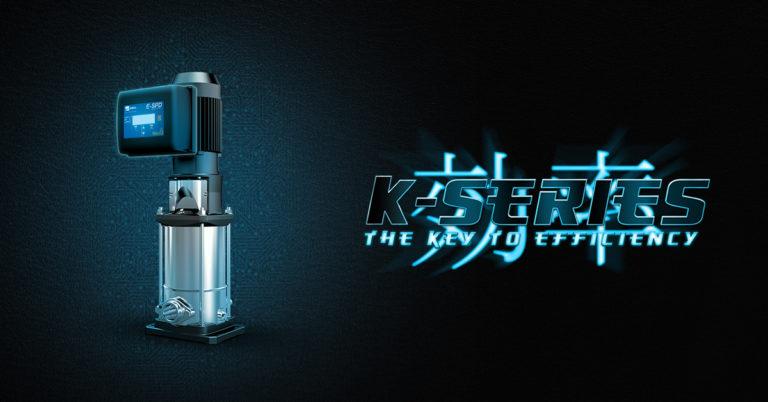 EBARA Pumps Europe lanza la bomba modelo EVMS-K