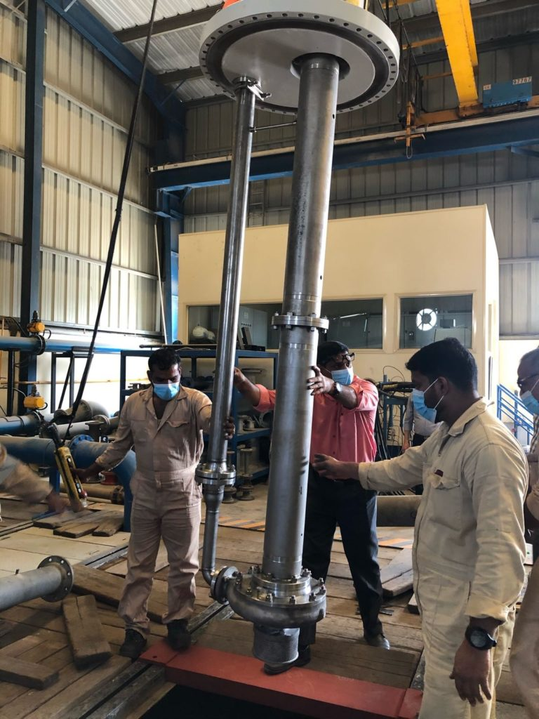 Amarinth Works with Archirodon to Overhaul and Update API Pumps for ADNOC
