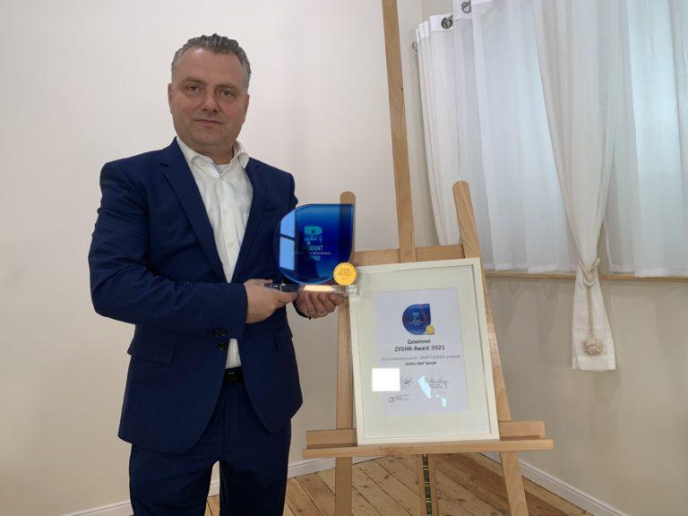 Sanftläufer Universal gewinnt ZVSHK-Award