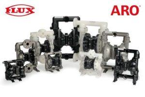 FLUX nimmt ARO Doppelmembranpumpen ins Programm