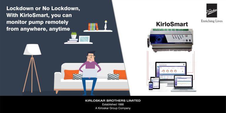 KirloSmart: un sistema di monitoraggio remoto della pompa intelligente basato su IoT
