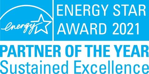 Pentair Earns 2021 ENERGY STAR Award