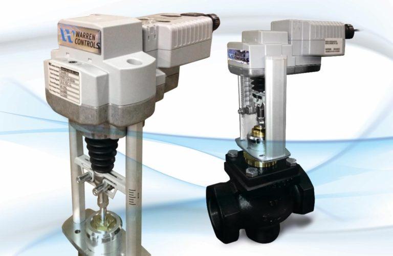 Warren Controls annonce des vannes de commande HVAC / BAC à actionnement électrique