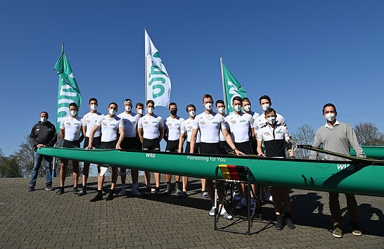 """Road to Tokyo"": Wilo Supports Team German Men's Eight"