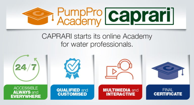 Caprari inaugure la PumpPro Academy