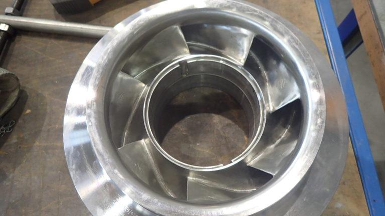 Sulzer Uses Laser Metal Deposition to Repair Lean Amine Pump Impeller for Equinor
