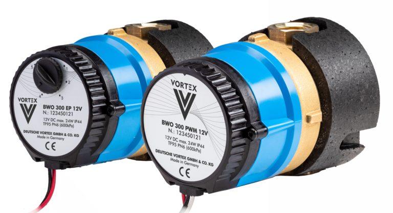 Hocheffiziente Gleichstrompumpen für Heiz- und Kühlkreisläufe